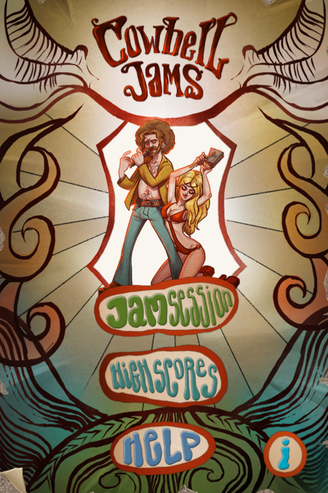 Cowbell Jams Main Menu